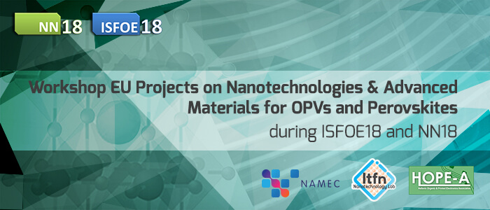 Workshop on EU Projects on Nanotechnologies & Advanced materials for OPVs and Perovskites